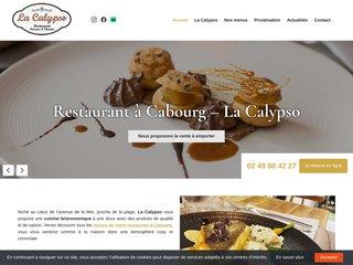 Le restaurant bistronomique, La Calypso à Cabourg