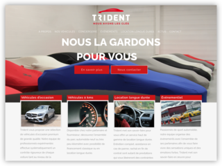 Vente véhicules d'occasion : Trident