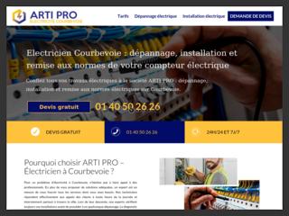 Électricien Courbevoie