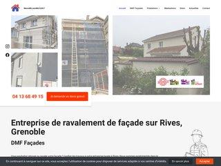 Nouvelle société DMF, rénovation ou ravalement de façade
