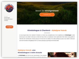Cabinet de Kinésiologie à Charleroi, Katelyne Vonck
