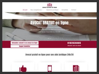 Conseil juridique par un avocat gratuit en ligne