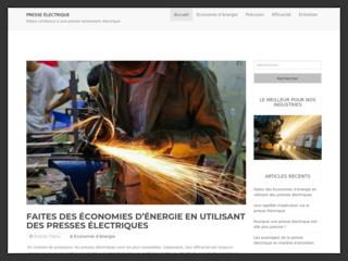 Tout savoir sur la presse électrique