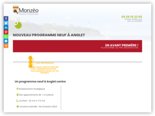 Nouveau programme immobilier neuf Anglet