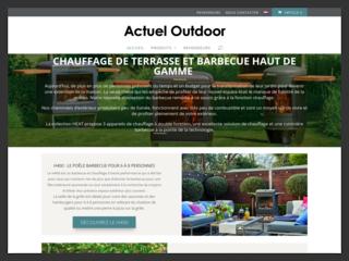 Actuel Outdoor: barbecue et chauffage extérieur