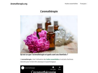 Le monde de l'aromathérapie