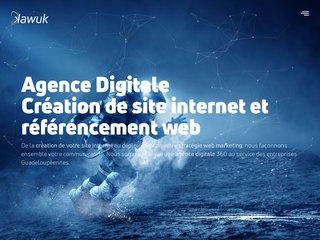 Agence Digitale Guadeloupe pour création de site internet et référencement seo - Kawuk