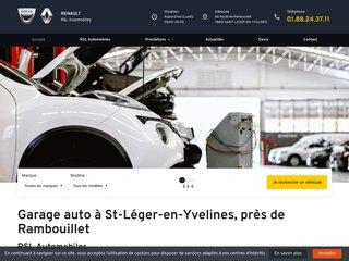Le garage de Saint-Léger-en-Yvelines