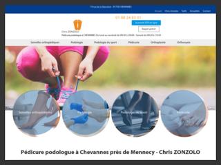 Consultez le podologue Chris ZONZOLO à Chevannes