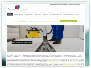 Nova Clean: Votre entreprise de nettoyage à Lyon