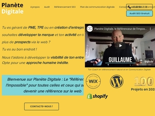 Planète Digitale : Agence en référencement naturel - Occitanie - France