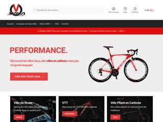 Vélos Sava en carbone au meilleur rapport qualité prix