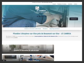 JC CAMBOA : pour des services de plomberie à Bruyères-sur-Oise