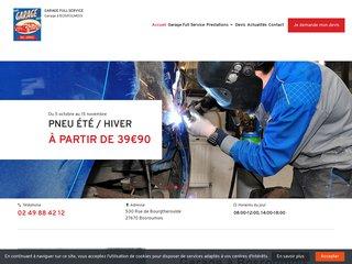 Garage Full Service, portail web de votre garage à Bosroumois