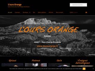 L'ours Orange - Stand épices