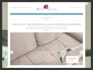 Nettoyage de matelas à domicile France: Nova Clean