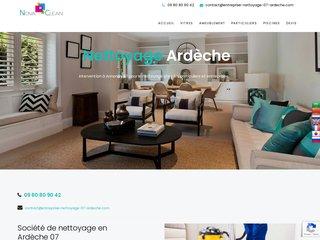 Société de nettoyage en Ardèche 07: Nova Clean