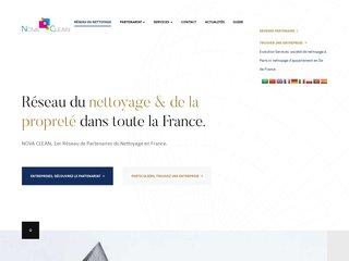 Nova Clean: réseau d'entreprises de nettoyage