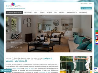Nova Clean: Services de nettoyage  à Lorient, Morbihan (56)