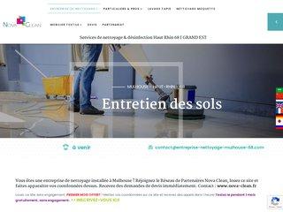 Nova Clean: votre expert en nettoyage à Mulhouse