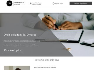 avocat grenoble - divorce grenoble - divorce voiron : Me Mendoza