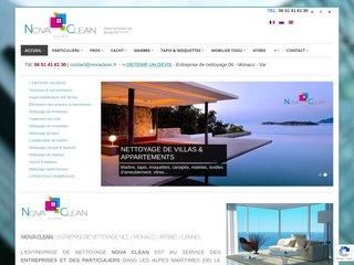 Nova Clean 06: Société de nettoyage à Nice