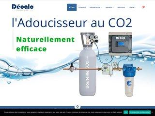 Adoucisseur eau au CO2 Décalc