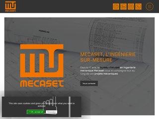 Mecaset - Bureau en ingénierie mécanique Toulouse