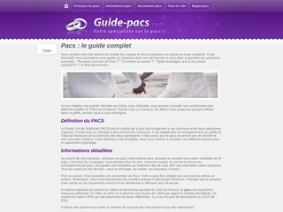 Informations pacs