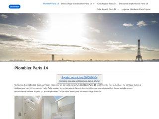 Artisans plombiers à Paris 14