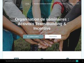 Organisation de séminaire team building