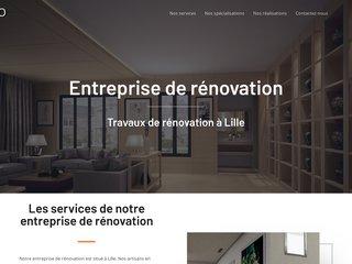 Rénovation à Lille