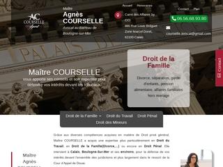 Avocat Droit de la Famille-Divorce Calais(62) | Me Agnès COURSELLE
