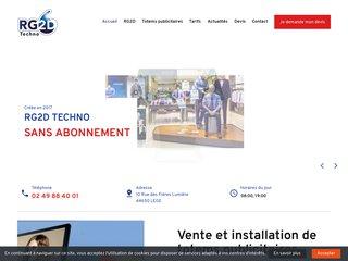 Achat ou location de totems publicitaires à La Roche-sur-Yon