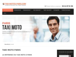 taxi-moto-paris.com - taxis motos paris