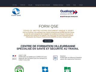 Form QSE: organisme de formation certifié Datadock
