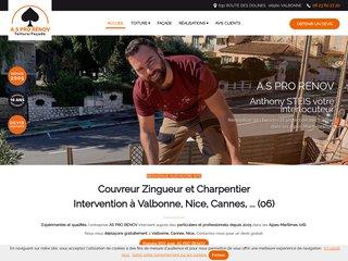 AS PRO RENOV charpentier couvreur à Valbonne