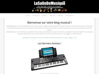 Blog dédié à l'univers de la musique