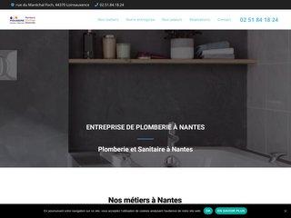 Entreprise de plomberie à Nantes