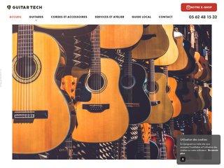 Acheter votre guitare chez Guitar Tech à Toulouse