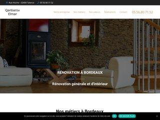Entreprise de rénovation à Bordeaux