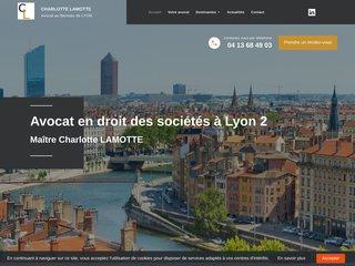 Me Charlotte LAMOTTE propose un accompagnement juridique sur Lyon