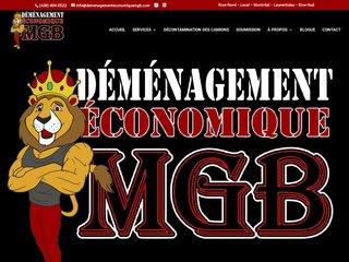 Compagnie de déménagement : Déménagement Économique MGB