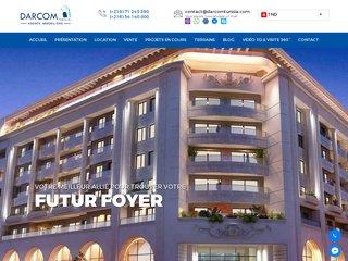 Darcom Tunisia - Agence Immobilière Tunisie, vente et location