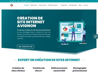Agence web Avignon - Création de site internet Vaucluse