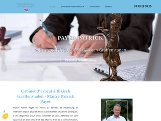 Maître Patrick Payer, avocat à Illkirch