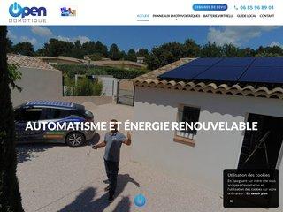 Open Domotique : installation de panneaux solaires à Saint Maximin