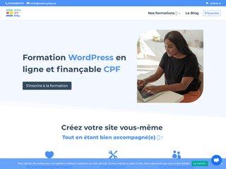 Créer un site internet sous WordPress
