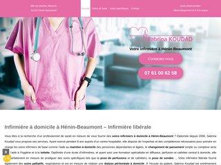 Infirmière à domicile à Hénin-Beaumont