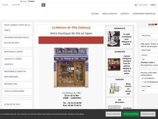 Boutique de Thé en ligne - La Maison de Tilly Cabourg